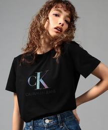 tシャツ Tシャツ ビッグ イリデセント ロゴ Tシャツ|ZOZOTOWN PayPayモール店