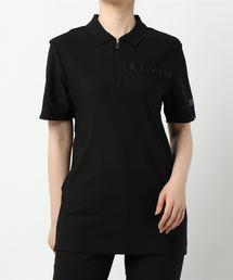 ポロシャツ 【W】【CA】【it】【River Island】polo with taping|ZOZOTOWN PayPayモール店