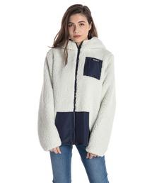 ジャケット ブルゾン RANDOM FLOWER/ロキシー ボア もこもこ ジャケット|ZOZOTOWN PayPayモール店
