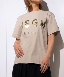 tシャツ Tシャツ MSGM(エムエスジーエム)exclusive ジェルロゴTシャツ|ZOZOTOWN PayPayモール店