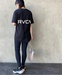 tシャツ Tシャツ [RVCA/ルーカ] バックテールロゴプリントショートスリーブTシャツ|ZOZOTOWN PayPayモール店