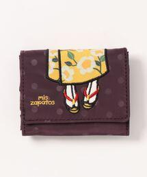 財布 【抗菌】mis zapatos 着物三つ折り財布 二つ折り 2つ折り ミニ財布 ミニウォレット|ZOZOTOWN PayPayモール店