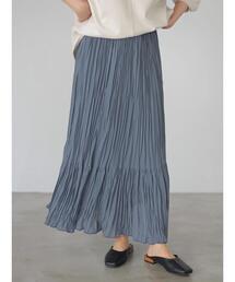 スカート プリーツティアードスカート *●|ZOZOTOWN PayPayモール店