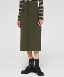 スカート テクニカルツイルミリタリーミディスカート|ZOZOTOWN PayPayモール店