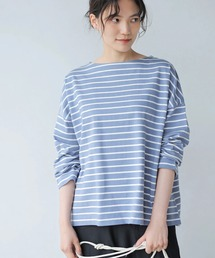 tシャツ Tシャツ ヘビーウエイトボーダーボートネックプルオーバー *● ZOZOTOWN PayPayモール店