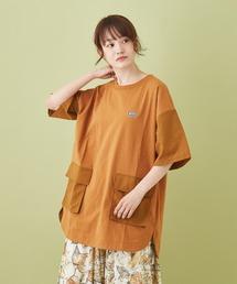 tシャツ Tシャツ OE天竺 ポケットチュニック|ZOZOTOWN PayPayモール店