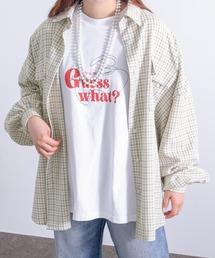 シャツ ブラウス 【kutir closet】ビッグシルエットチェックシャツ|ZOZOTOWN PayPayモール店