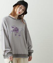tシャツ Tシャツ とにかく収穫したい恐竜刺しゅうプルオーバー|ZOZOTOWN PayPayモール店