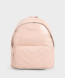 リュック キルテッド ダブルジップバックパック / Quilted Double Zip Backpack ZOZOTOWN PayPayモール店
