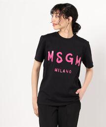 tシャツ Tシャツ MSGM(エムエスジーエム)ジェルロゴTシャツ|ZOZOTOWN PayPayモール店