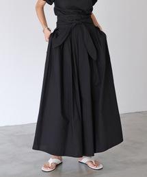 スカート ワイドベルトロングスカート|ZOZOTOWN PayPayモール店