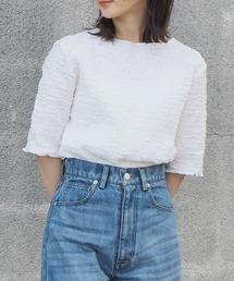 tシャツ Tシャツ 2021SS でこぼこ5分袖プルオーバー|ZOZOTOWN PayPayモール店