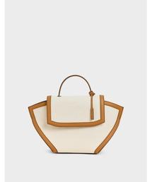 バッグ ハンドバッグ ラージトラペーズ トップハンドルバッグ / Large Trapeze Top Handle Bag|ZOZOTOWN PayPayモール店