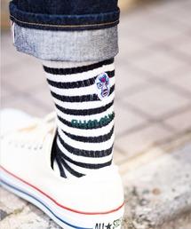 靴下 ウール混刺繍クルーソックス ZOZOTOWN PayPayモール店
