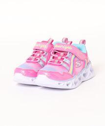 スニーカー SKECHERS スケッチャーズ S LIGHTS-HEART LIGHTS-RAINBOW LUX キッズ【光る靴/2WAY】(Sライツ|ZOZOTOWN PayPayモール店