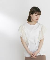 tシャツ Tシャツ UR Lab. 袖フリルカットソー|ZOZOTOWN PayPayモール店
