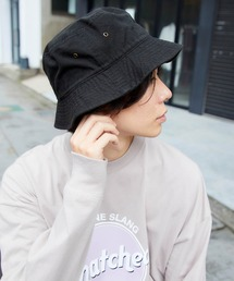 帽子 ハット 【newhattan】 ニューハッタン バケットハット COTTON BUCKET HAT|ZOZOTOWN PayPayモール店