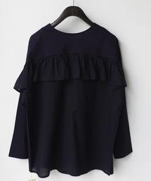 tシャツ Tシャツ バックフリルカットソー|ZOZOTOWN PayPayモール店
