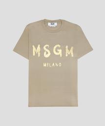 tシャツ Tシャツ MSGM ブラッシュロゴTシャツ【EXCLUSIVE】|ZOZOTOWN PayPayモール店