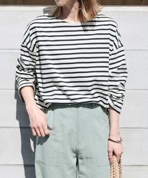 tシャツ Tシャツ ワイドスリーブボーダーカットソー|ZOZOTOWN PayPayモール店