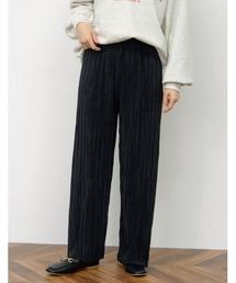 パンツ [飯豊まりえさん着用][2021SS 裏地なしVer 追加][低身長/高身長サイズ有]グロッシーワイドプリーツパンツ|ZOZOTOWN PayPayモール店