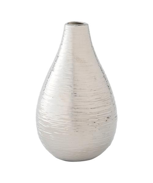 花瓶 クロス フラワーベース シルバー 本日限定 百貨店 S
