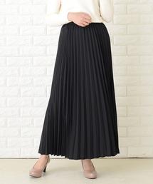 スカート プリーツロングフレアスカート|ZOZOTOWN PayPayモール店