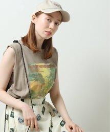 tシャツ Tシャツ レトロプリントノースリチュニックTOPS|ZOZOTOWN PayPayモール店