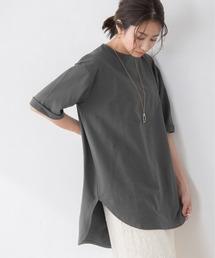 tシャツ Tシャツ サイドスリットチュニックTシャツ ZOZOTOWN PayPayモール店