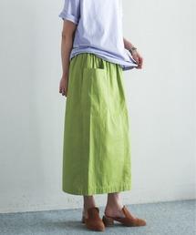 スカート 綿ツイル製品染 イージーストレートスカート|ZOZOTOWN PayPayモール店