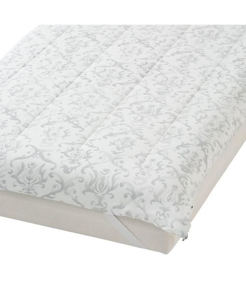ベッド 寝具 2021年モデル オンラインショップ 一部店舗限定 グレー ベッドパッド ふわろ オーナメント いよいよ人気ブランド 価格 交渉 送料無料 セミダブル