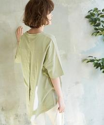tシャツ Tシャツ 【ORGANIC COTTON】バックシャンTシャツ|ZOZOTOWN PayPayモール店