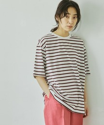 tシャツ Tシャツ 【Liyoca】ボーダービッグTシャツ-ウォッシャブル-|ZOZOTOWN PayPayモール店