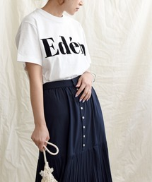 tシャツ Tシャツ EdenフロッキーロゴプリントTシャツ|ZOZOTOWN PayPayモール店