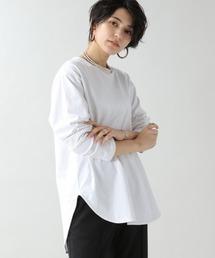tシャツ Tシャツ ラウンドヘムレイヤードロンT/926607 ZOZOTOWN PayPayモール店