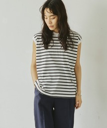 tシャツ Tシャツ 【Liyoca】ボーダータンクトップ-ウォッシャブル-|ZOZOTOWN PayPayモール店