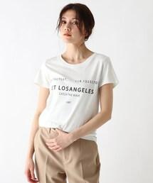 tシャツ Tシャツ 【ウォッシャブル】コットンラウンドネックロゴTシャツ ZOZOTOWN PayPayモール店
