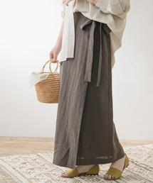 スカート F by ROSSO リネンラップスカート|ZOZOTOWN PayPayモール店