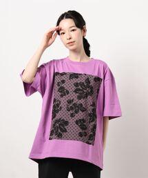 tシャツ Tシャツ チェリー&ドットモチーフプリントTシャツ|ZOZOTOWN PayPayモール店