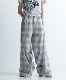 パンツ CHECKED EASY PANTS|ZOZOTOWN PayPayモール店