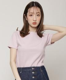 tシャツ Tシャツ ロゴ刺繍入りコンパクトTシャツ|ZOZOTOWN PayPayモール店