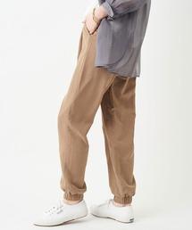 パンツ 美脚におしゃれに着用できる 裾絞りジョガーパンツ|ZOZOTOWN PayPayモール店