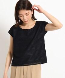 tシャツ Tシャツ 【洗える】シャイニーレースプルオーバー|ZOZOTOWN PayPayモール店