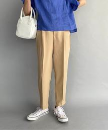 パンツ スラックス 【WEB限定】ワンタックハイウエストテーパードパンツ|ZOZOTOWN PayPayモール店