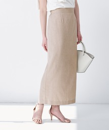 スカート リネンライクロングタイトスカート|ZOZOTOWN PayPayモール店
