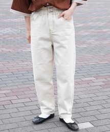 パンツ デニム ジーンズ 【ウエスト全ゴム仕様!】テーパードデニムパンツ|ZOZOTOWN PayPayモール店