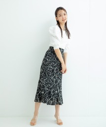 スカート ラインフラワーマーメイドスカート|ZOZOTOWN PayPayモール店