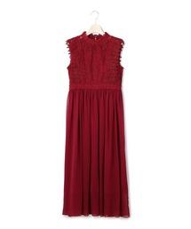 ドレス スタンドレースフリルロングドレス|ZOZOTOWN PayPayモール店