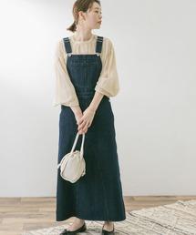 ワンピース ジャンパースカート F by ROSSO デニムジャンパースカート|ZOZOTOWN PayPayモール店