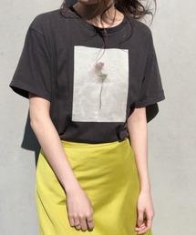 tシャツ Tシャツ ローズプリントTee|ZOZOTOWN PayPayモール店